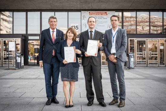 Candis Forschungspreis, Preisverleihung 2016 an Dr. Eva Hoch & Forschungsgruppe (TU Dresden)